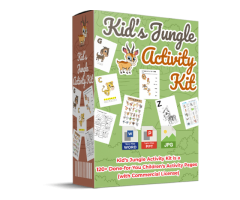 KIDS JUNGLE ACTIVITY KIT