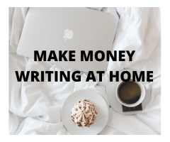 Writing To Wealth (Work from Home)