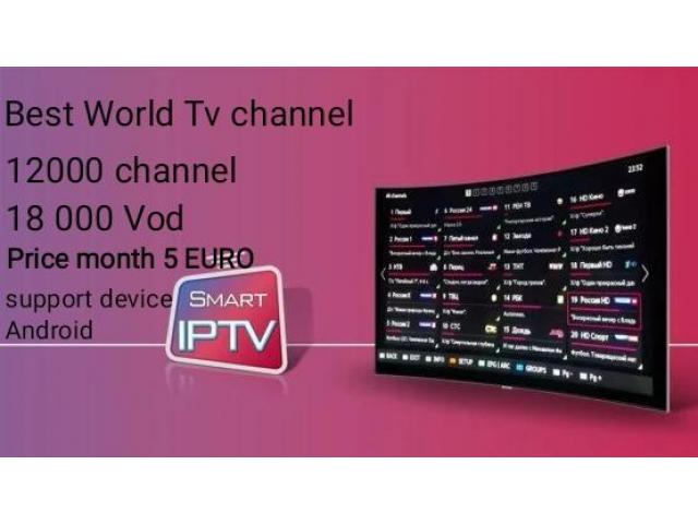 World IPTV 20 000 chanell 15 000 VOD