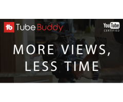 #1 Youtube's Buddy TubeBuddy !