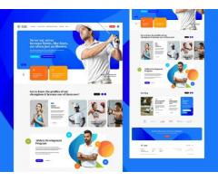 I will design and develop a stunning website for your brand