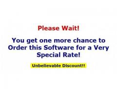 You get one more chance to Order this Software for a Very Special Rate!